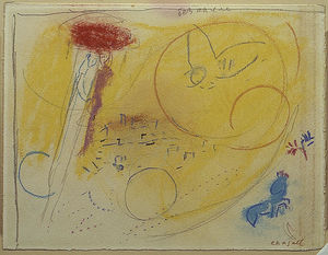 Marc Chagall - Song of Songs III