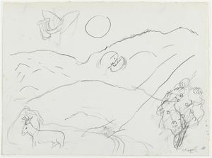 Marc Chagall - Song of Songs V