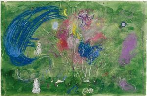 Marc Chagall - Paradise (12)