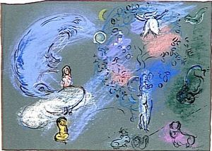 Marc Chagall - Paradise (13)
