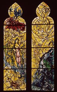 Marc Chagall - Adam and Eve expelled from Paradise (8)