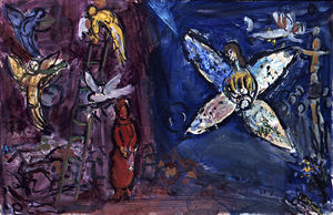 Marc Chagall - The Jacob's Dream (8)