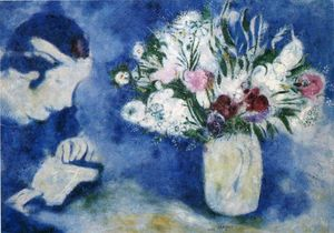 Marc Chagall - Bella in Mourillon
