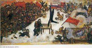 Marc Chagall - The Revolution