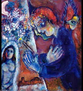 Marc Chagall - Artist at Easel