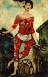 Marc Chagall - The Acrobat