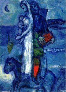 Marc Chagall - Fisherman-s Family