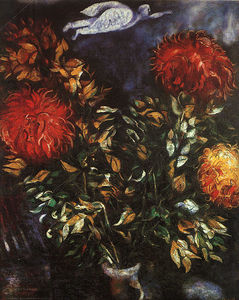 Marc Chagall - Chrysanthemums