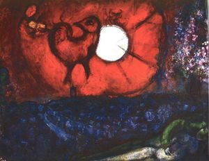 Marc Chagall - Vence: night