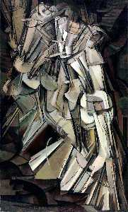 Marcel Duchamp - Nude Descending a Staircase, No.2