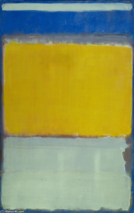 No.10, 1950 by Mark Rothko (Marcus Rothkowitz) (1903-1970, Latvia)