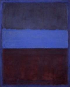 Mark Rothko (Marcus Rothkowitz) - No.61 (Rust and Blue)