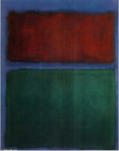 Mark Rothko (Marcus Rothkowitz) - Earth - Green