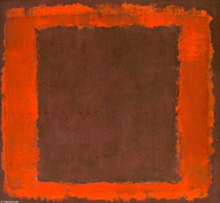 Untitled Mural for End Wall, 1959 by Mark Rothko (Marcus Rothkowitz) (1903-1970, Latvia)