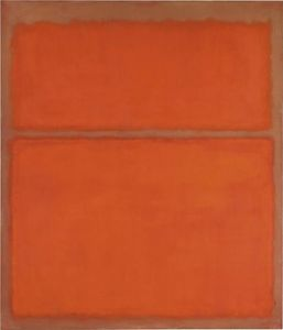Mark Rothko (Marcus Rothkowitz) - Untitled