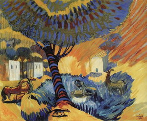 Martiros Saryan - At the well