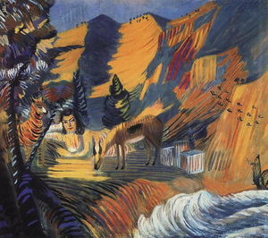 Martiros Saryan - By the sea