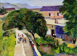 Martiros Saryan - July