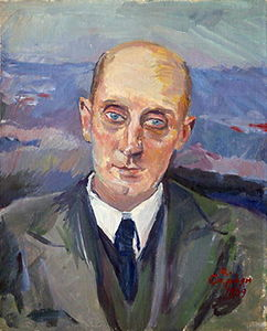 Martiros Saryan - Portrait of S. Shervinsky