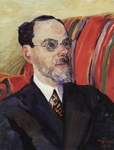 Martiros Saryan - Portrait of an art critic Abram Efros