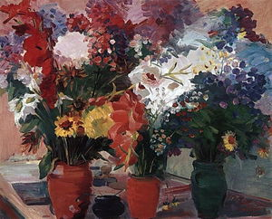 Martiros Saryan - Flowers of Stepanavan