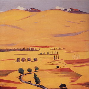 Martiros Saryan - Geghama mountains