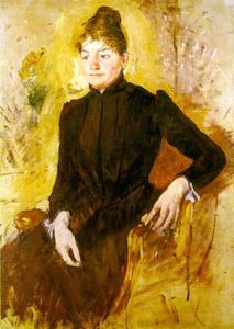 Mary Stevenson Cassatt - Woman in Black