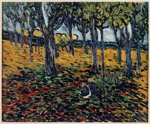 Maurice De Vlaminck - The Chestnut Grove at Chatou