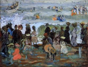 Maurice Brazil Prendergast - After the Storm