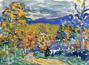 Maurice Brazil Prendergast - Autumn in New England
