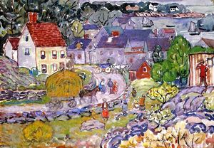 Maurice Brazil Prendergast - The Hay Cart
