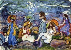 Maurice Brazil Prendergast - On the Rocks, North Shore