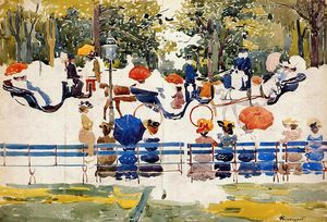 Maurice Brazil Prendergast - Central Park (also known as Central Park, New York City)