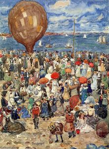 Maurice Brazil Prendergast - The Balloon