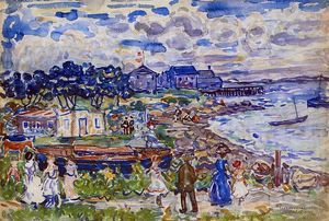 Maurice Brazil Prendergast - The Cove