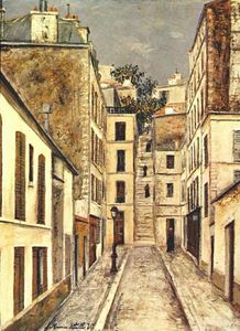 Maurice Utrillo - The Passage (The Dead End)