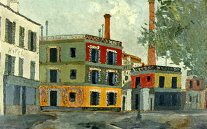 Maurice Utrillo - Factory