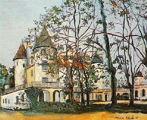 Maurice Utrillo - The castle