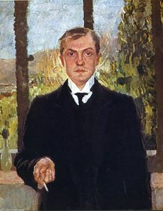 Max Beckmann - Self-Portrait in Florence