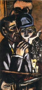 Max Beckmann - Bar Brown