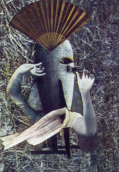 The Chinese Nightingale, 1920 by Max Ernst (1891-1976, Germany)