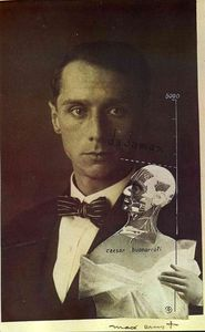 Max Ernst - Punching Ball or the Immortality of Buonarroti