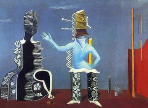 Max Ernst - The Couple in Lace