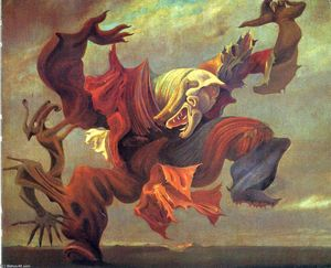 Max Ernst - The Angel of the home or the Triumph of Surrealism