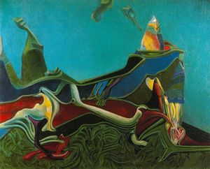 Max Ernst - Landscape with Wheatgerm