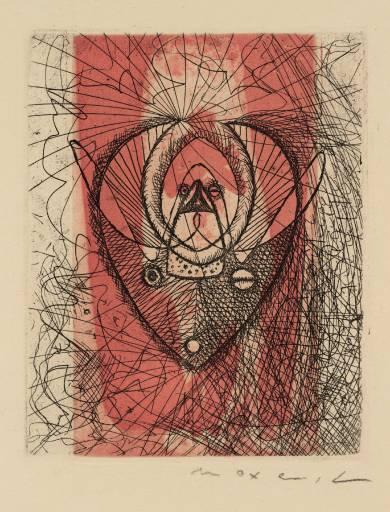 Untitled (9), Engraving by Max Ernst (1891-1976, Germany)