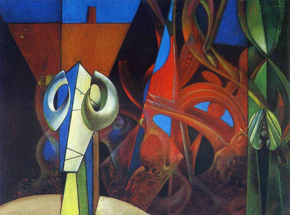 Design in Nature, Oil On Canvas by Max Ernst (1891-1976, Germany)