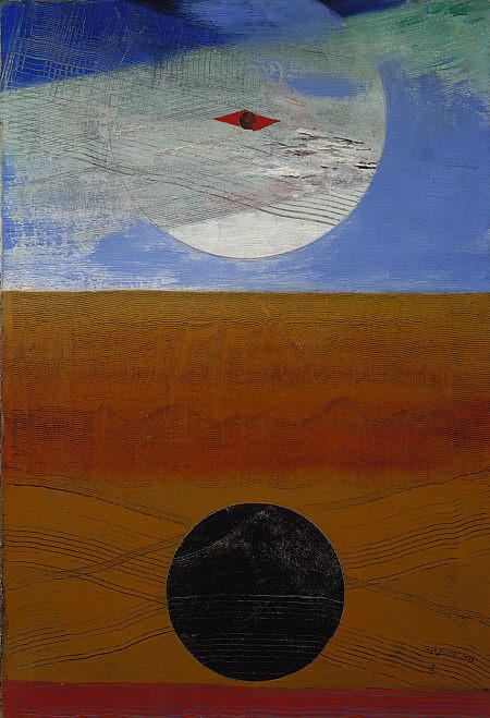 Sea and Sun, 1925 by Max Ernst (1891-1976, Germany) | Painting Copy | WahooArt.com