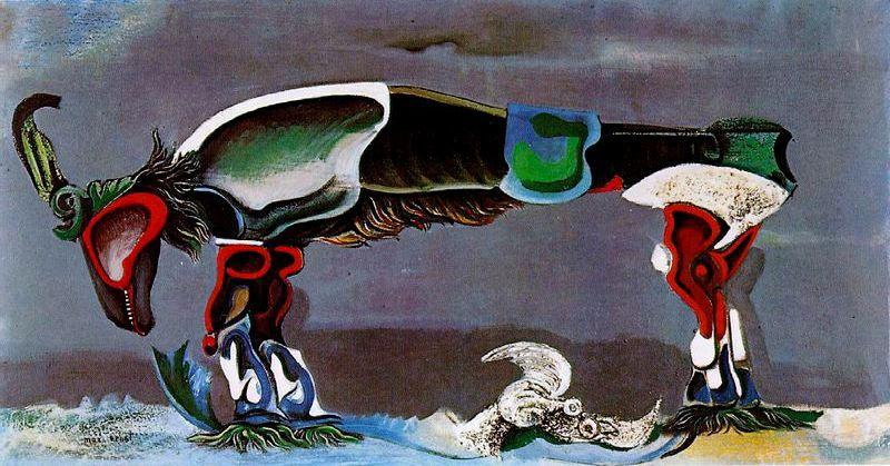 The Beautiful Season, 1925 by Max Ernst (1891-1976, Germany)