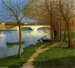 Maxime Emile Louis Maufra - Bridge over the Loire
